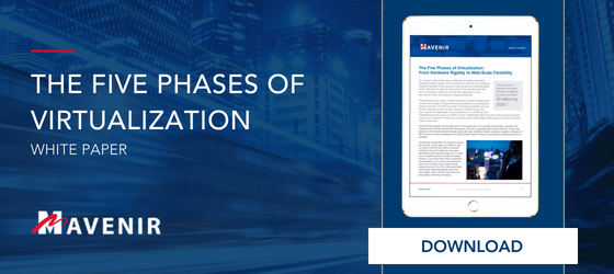Mavenir The Five Phases of Virtualization White Paper Download Button